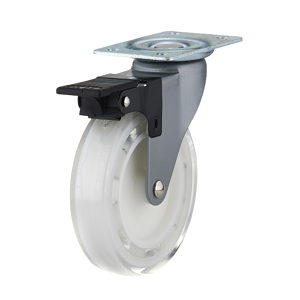 Contemporary Clear White Furniture Caster