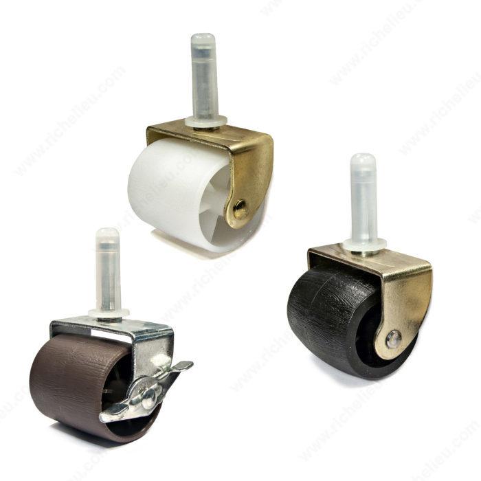 Roulettes pour base de lit et accessoires madico - Roulette pour meuble avec frein ...