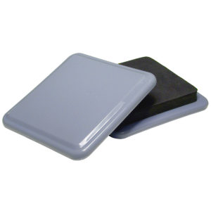 SUPER SLIDEX® Gray Square Ultra-Sliding Glides