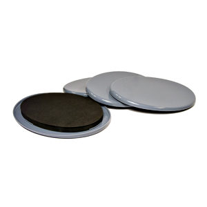 SUPER SLIDEX® Gray Oval Ultra-Sliding Glides