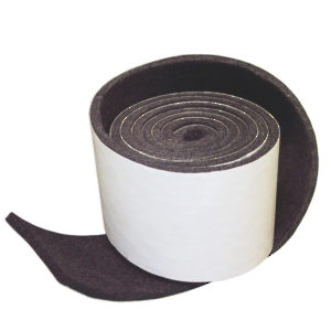 PRO-TEC® Self-Adhesive Medium-Duty Strip Felt Pads