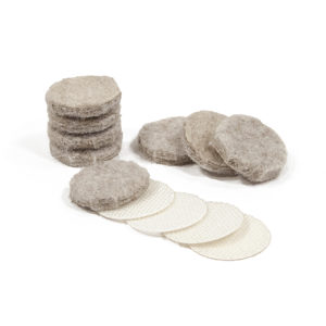 ULTRA FELTAC® and VELCRO® Heavy-Duty Round Felt Pads